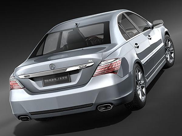 acura rl 2009 sedan car vehicles 3d models. Black Bedroom Furniture Sets. Home Design Ideas