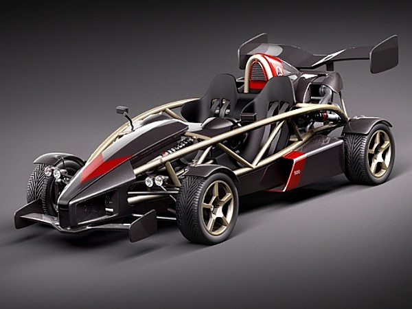 Ariel Atom 500 V8 Racing Car Vehicles 3d Models