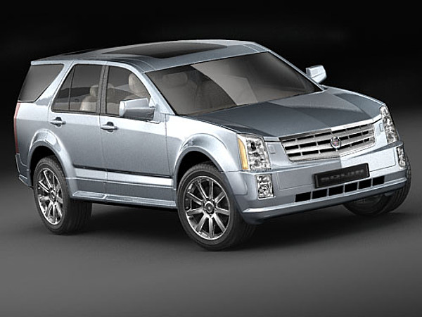 Military Vehicles For Sale >> Cadillac SRX SUV-Offroad Car Vehicles 3D Models