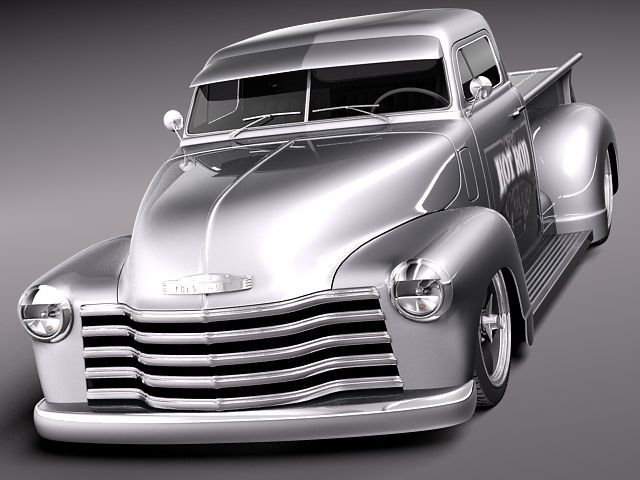 chevrolet pickup 1950 streetrod custom oldtimer car. Black Bedroom Furniture Sets. Home Design Ideas