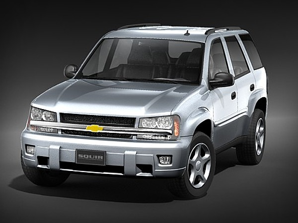 Chevy Suv Models >> Chevrolet Trailblazer LT SUV-Offroad Car Vehicles 3D Models