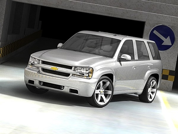 Chevrolet Trailblazer SS SUV-Offroad Car Vehicles 3D Models