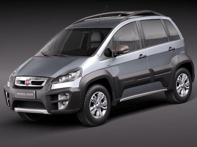 Fiat idea adventure 2011 suv offroad car vehicles 3d models for Fiat idea adventure pack top