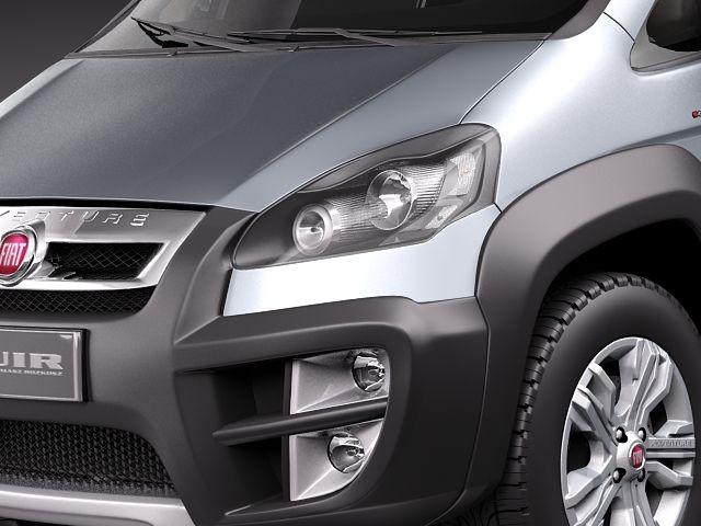 Fiat Idea Adventure 2011 Suv Offroad Car Vehicles 3d Models