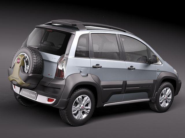 Fiat Idea Adventure 2011 Suv