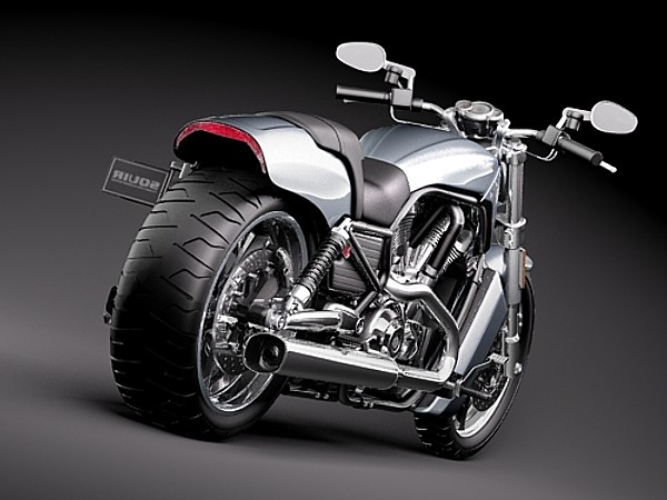Harley Davidson Cruiser >> Harley Davidson V-ROD Muscle 2010 Cruisers Motorcycle Vehicles 3D Models