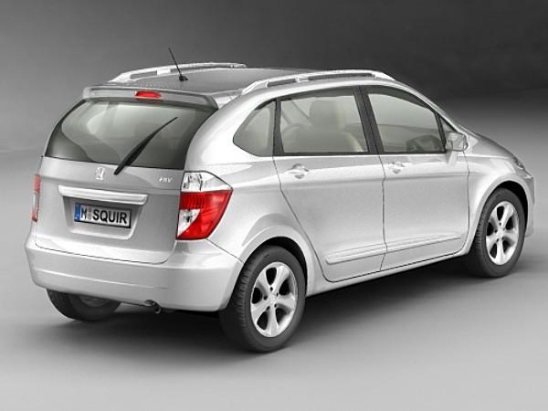 Honda FR-V 2006 Van Heavy Vehicle Vehicles 3D Models