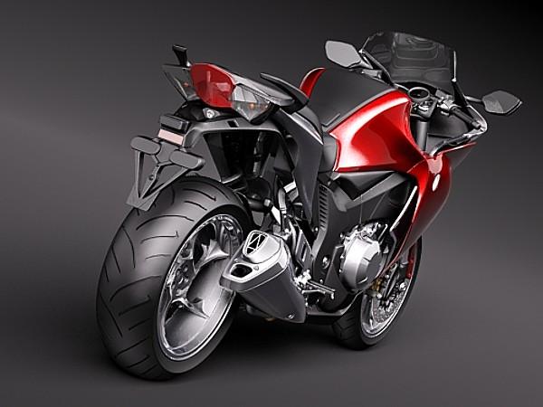 Honda VFR1200 3D Models
