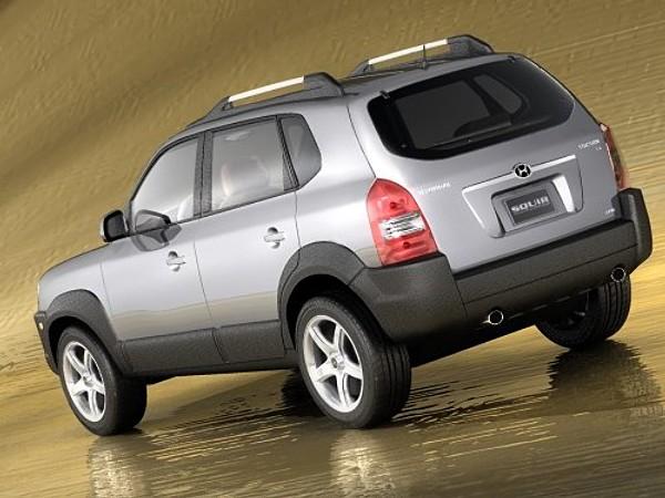 hyundai tucson 2005 suv offroad car vehicles 3d models. Black Bedroom Furniture Sets. Home Design Ideas