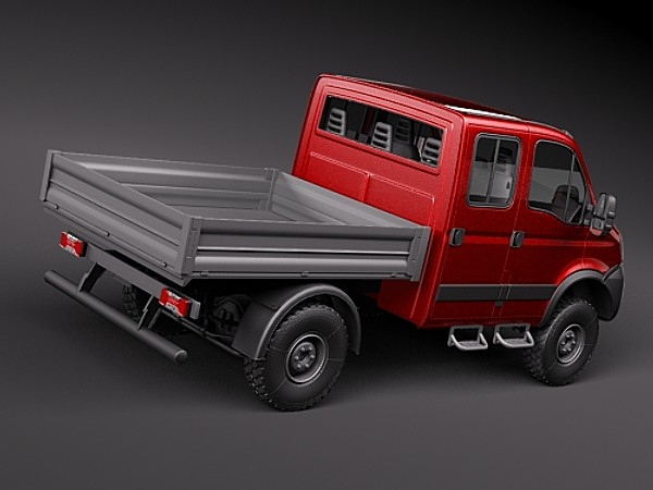 Iveco Daily 4x4 Truck Heavy Vehicle Vehicles 3d Models