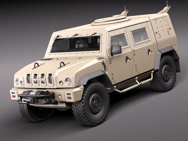Armored Vehicles For Sale >> Iveco LMV Jeep Military Vehicles 3D Models