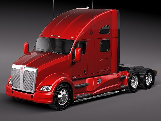 Kenworth T700 2010 Truck Heavy Vehicle Vehicles 3D Models