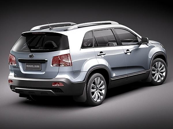Kia Sorento Suv Offroad Car Vehicles 3d Models