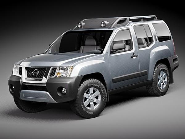Nissan Xterra 2009 Suv Offroad Car Vehicles 3d Models