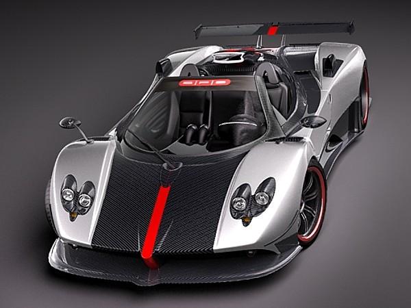 Pagani Zonda Cinque Roadster 2010 Car Vehicles 3d Models