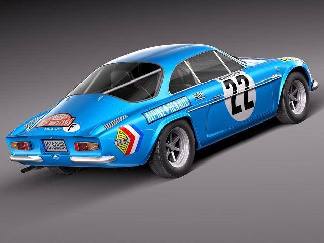 renault alpine a110 rallye 1963 1974 oldtimer car vehicles. Black Bedroom Furniture Sets. Home Design Ideas