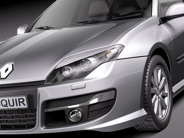 Renault Laguna Estate 2011 3d Models