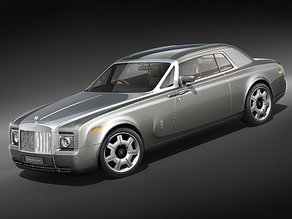 Rolls Royce Phantom Coupe 2010 Luxury Car Vehicles 3D Models