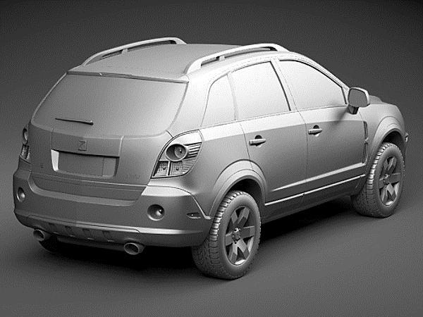 Saturn Vue For Sale >> Saturn Vue 2011 SUV-Offroad Car Vehicles 3D Models