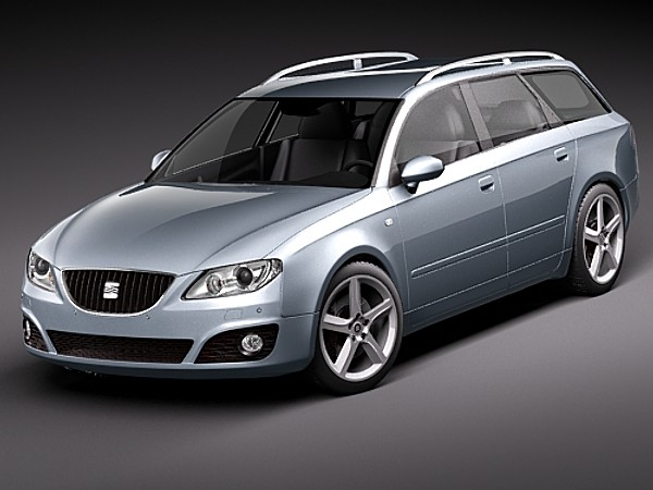 seat exeo st sedan car vehicles 3d models. Black Bedroom Furniture Sets. Home Design Ideas