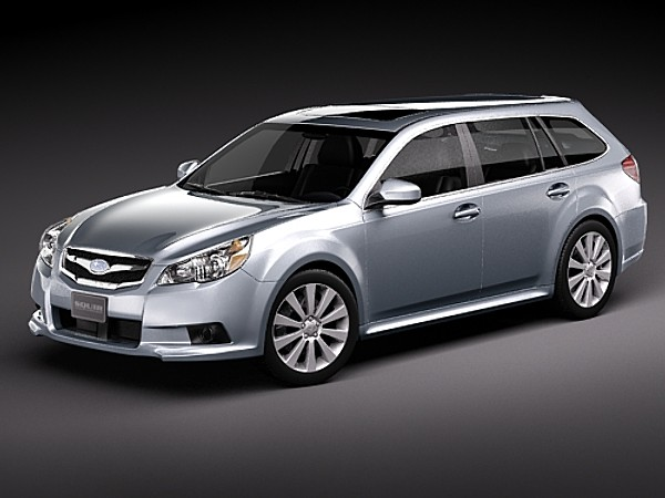 subaru legacy station wagon jdm 2010 sedan car vehicles 3d models. Black Bedroom Furniture Sets. Home Design Ideas