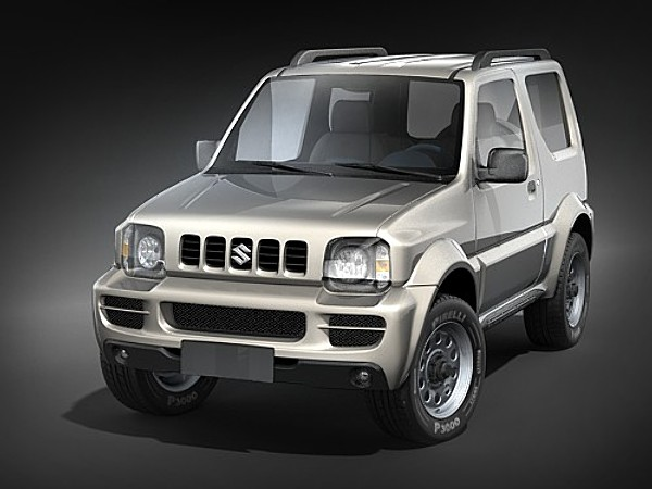 Military Vehicles For Sale >> Suzuki Jimny Jeep SUV-Offroad Car Vehicles 3D Models