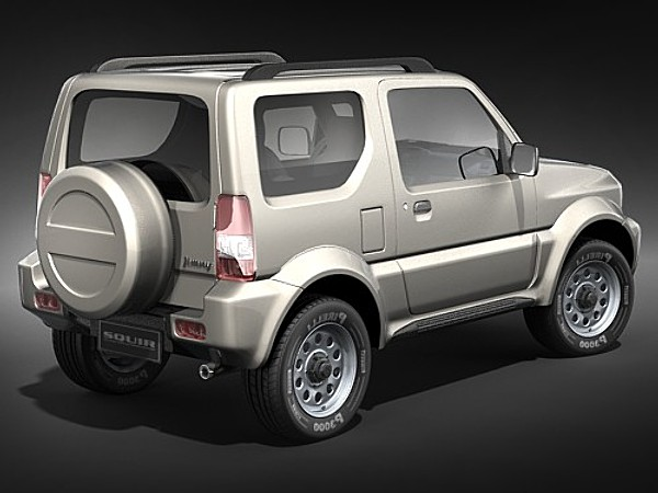 suzuki jimny jeep suv offroad car vehicles 3d models. Black Bedroom Furniture Sets. Home Design Ideas