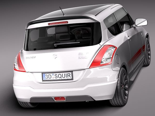 suzuki swift x ite 2011 sedan car vehicles 3d models. Black Bedroom Furniture Sets. Home Design Ideas