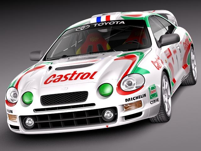 Military Vehicles For Sale >> Toyota Celica GT-Four Castrol Rally Racing Car Vehicles 3D ...