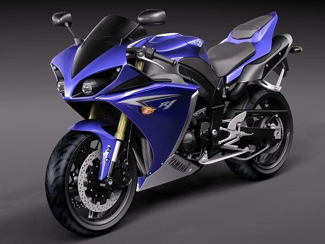 Yamaha YZF - R1 2010 3D Models