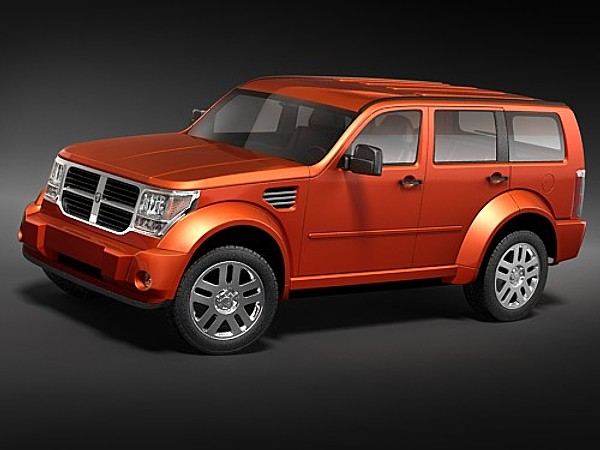 Rebusmarket high quality 3d models dodge nitro 2006 sciox Image collections