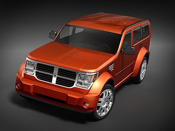 Rebusmarket high quality 3d models dodge nitro 2006 midpoly 34742g sciox Image collections