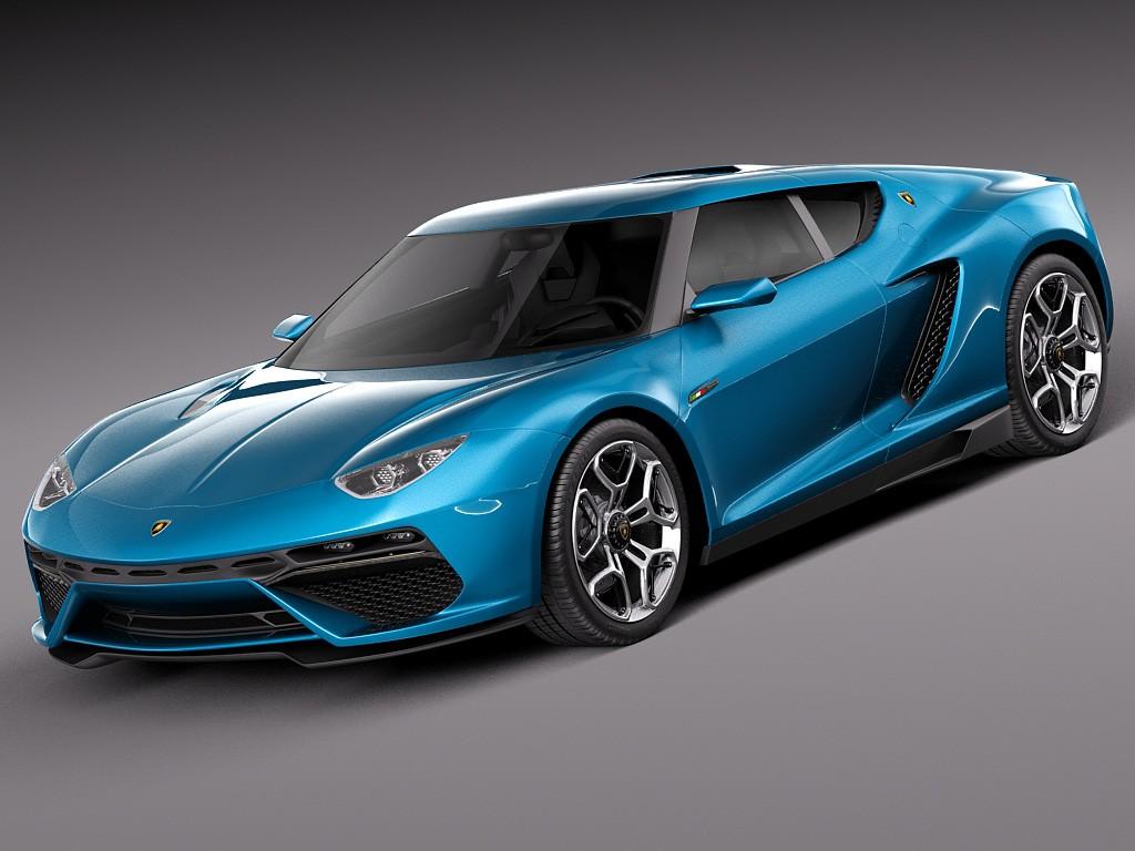 Lamborghini Asterion Lpi 910 4 Concept 2014 Coupe Car Vehicles 3d Models