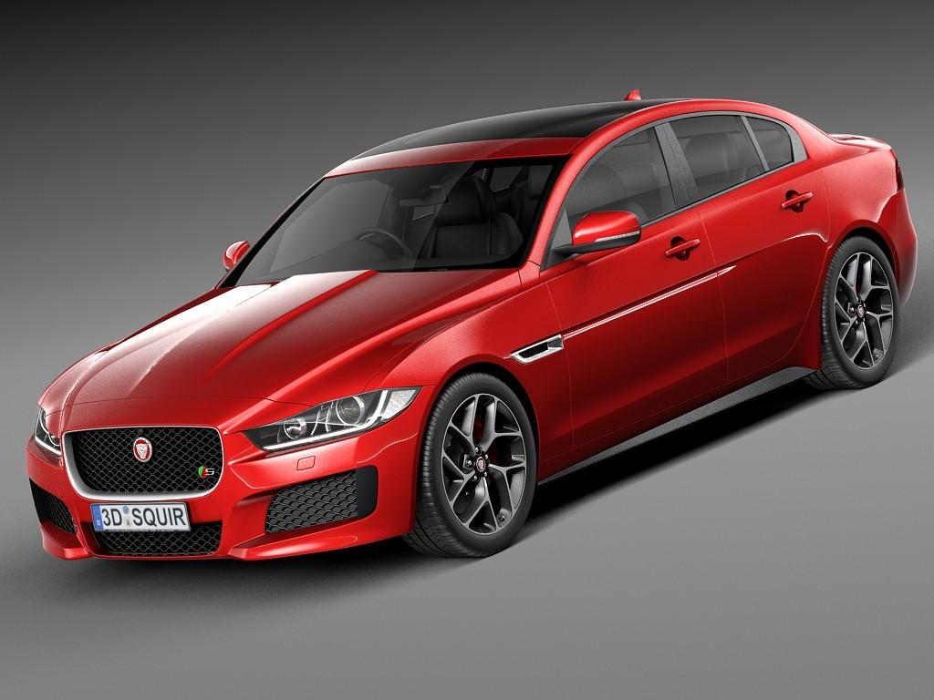 Jaguar XE S 2016 Sedan Car Vehicles 3D Models
