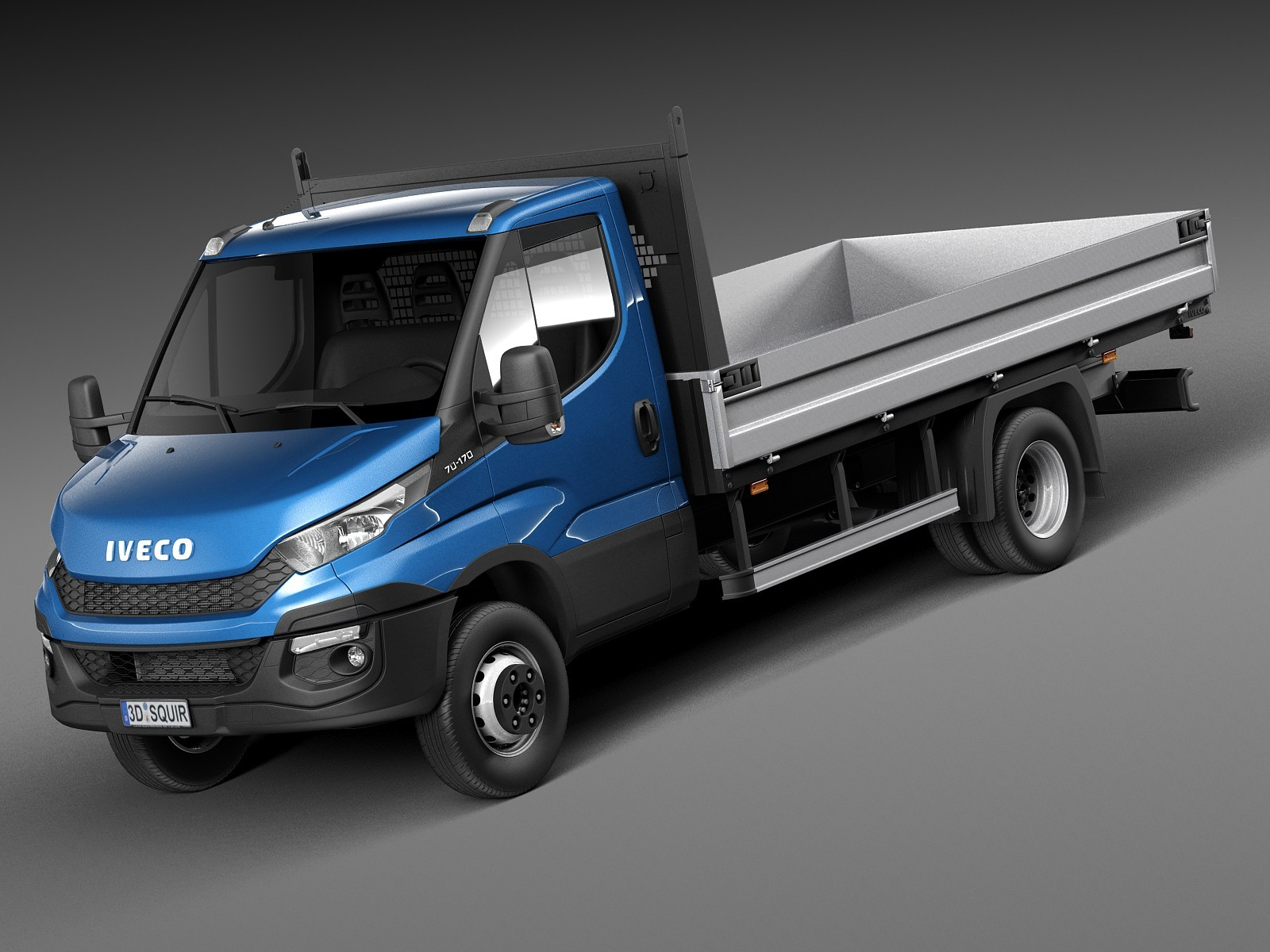iveco daily chassis cab pickup 2015 van heavy vehicle. Black Bedroom Furniture Sets. Home Design Ideas