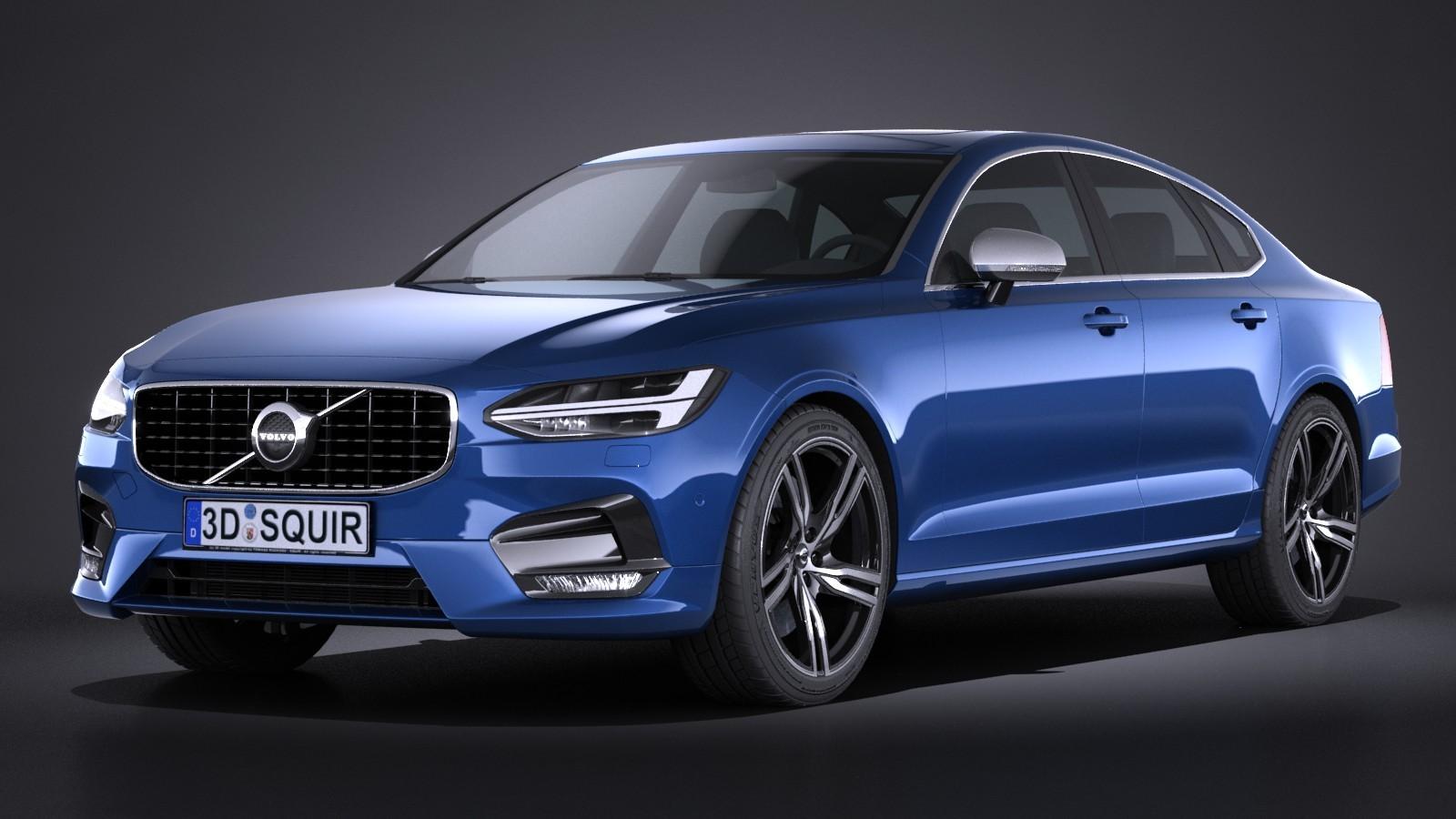 Volvo S90 R Design 2017