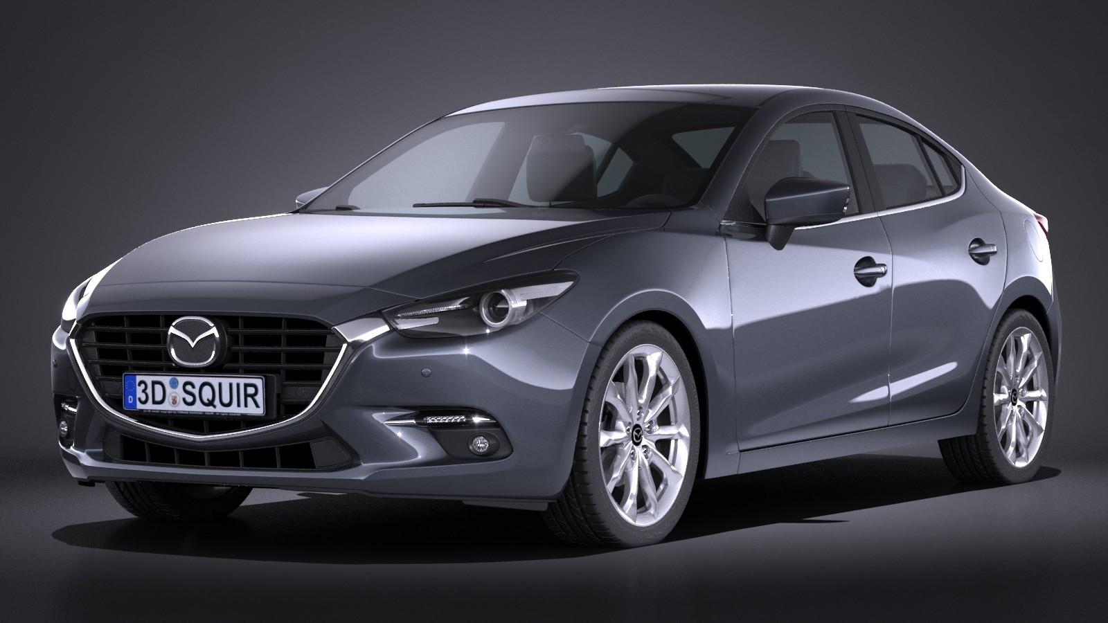 Mazda 3 2017 sedan