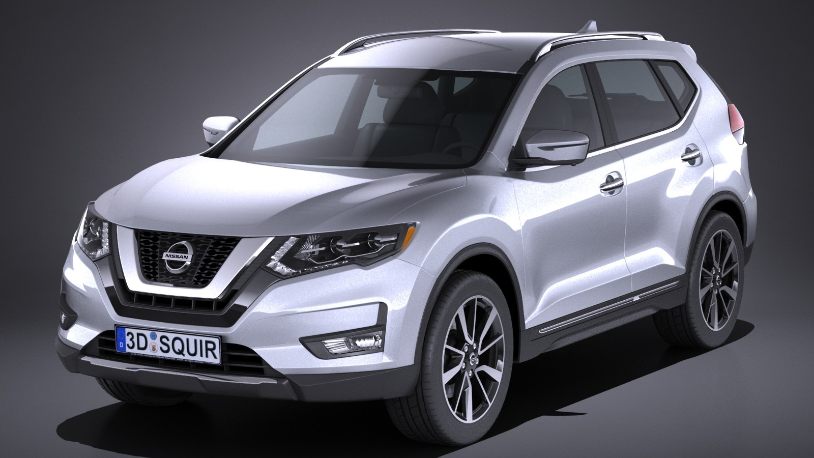 nissan x trail 2017 suv offroad car vehicles 3d models. Black Bedroom Furniture Sets. Home Design Ideas