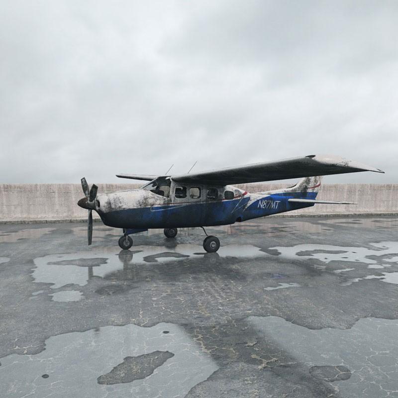 destroyed plane 016 am165