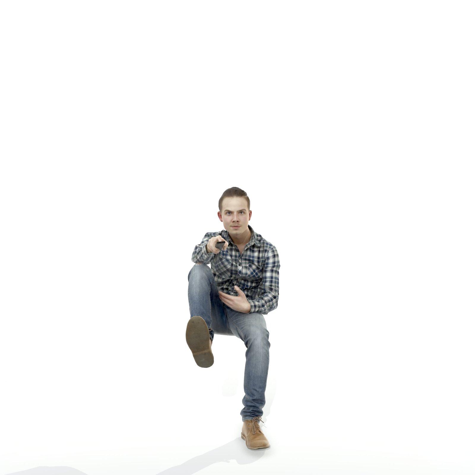 Ready-Posed 3D Humans - MeMsS022HD2
