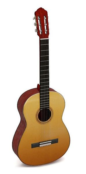 Classical guitar 08 AM67 image 0
