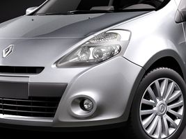 Renault Clio 3-door Automobile 2010  Image 3