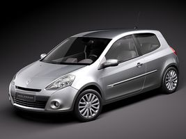 Renault Clio 3-door Automobile 2010  Image 1