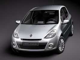 Renault Clio 3-door Automobile 2010  Image 2