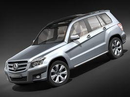 Mercedes GLK 2009  Image 1