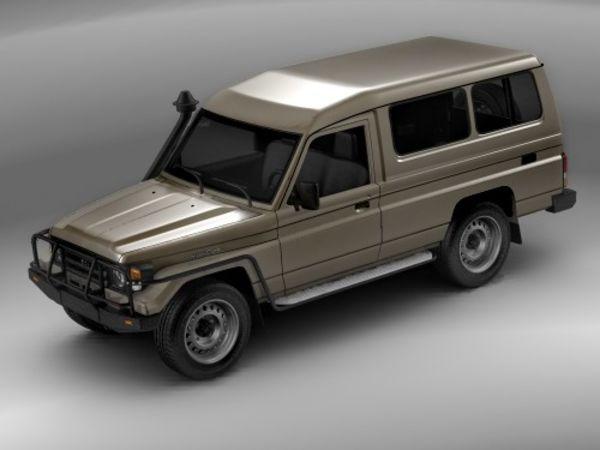 Toyota Landcruiser Wagon 78-series  Image
