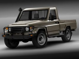Toyota Landcruiser 79-series Truck  Image 3