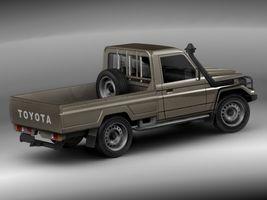 Toyota Landcruiser 79-series Truck  Image 4