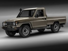 Toyota Landcruiser 79-series Truck  Image 2