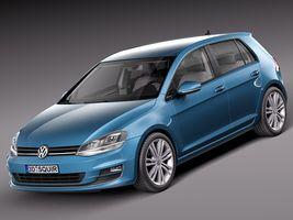 Volkswagen Golf 7 2013 5 Door Image 1